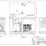 Дизельный генератор TOYO TG-40TPC03