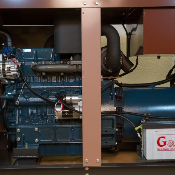 Дизельный генератор TOYO TG-40TPC26