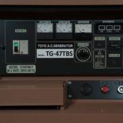 Дизельный генератор TOYO TG-47TBS01